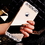 Luxury Gold Bling Diamond Soft TPU iPhone Case